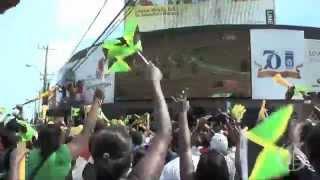 Jamaica Breaks World Record 4 x 100m Men Olympics London 2012 [WR 36.84] -Tribute