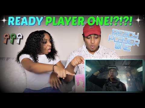 Download Youtube: READY PLAYER ONE - Official Trailer REACTION!!!