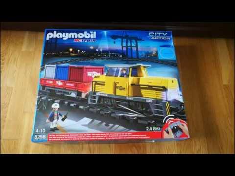 Unboxing playmobil 5258 rc train youtube - Train playmobil ...