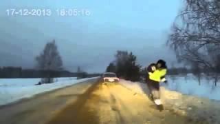 Красиво наказал ДПСников  Street Racer on the left of the chase