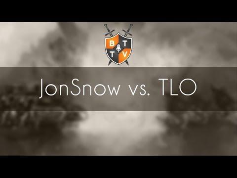 JonSnow vs. TLO - ZvZ - NA vs. EU Showmatches