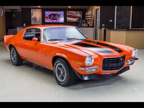 1972 Chevrolet Camaro For Sale Youtube