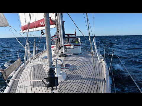 Learning The Ropes On Our Najad 440 - Ep. 190 RAN Sailing