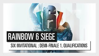 Six Invitational 2018 - Demi-finale #1 des play-offs qualificatifs : Patokalipsa VS Room Factory.