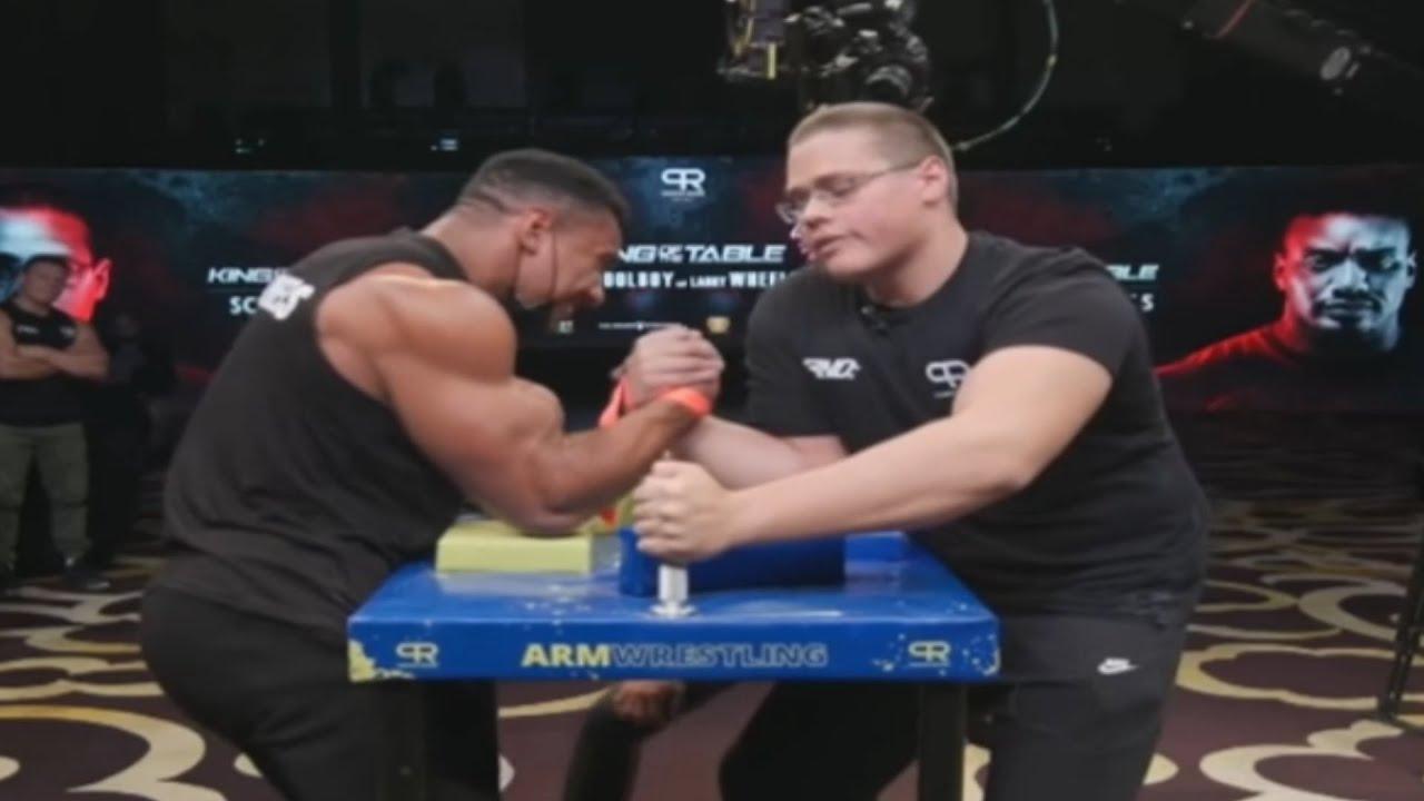 Arm Wrestling Is Wild
