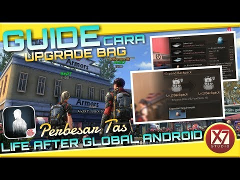 GUIDE UPGRADE BACKPACK - LIFE AFTER ANDROID - INDONESIA - 동영상