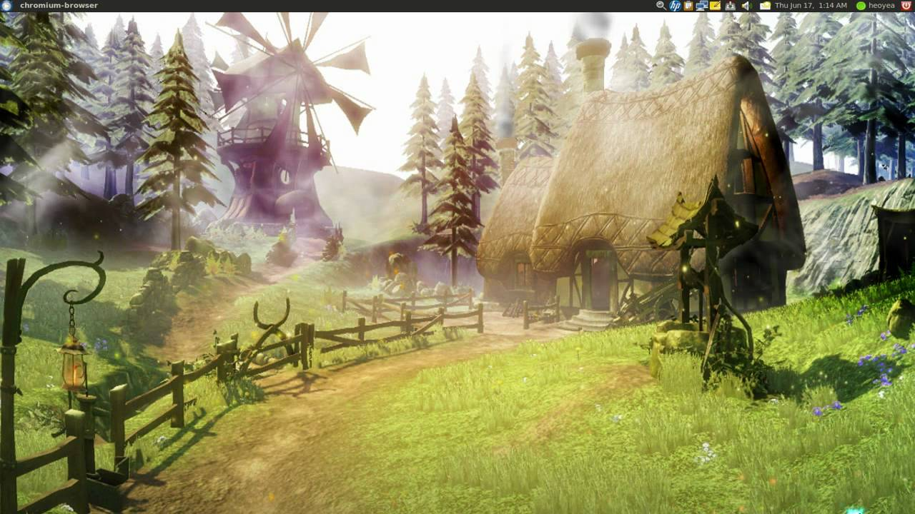 Ubuntu Animated Wallpaper Dreamscene Animated Desktop For Linux Ubuntu 10 04 Youtube