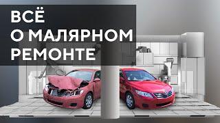 Малярно кузовной ремонт авто | Дефектовка | Ремонт кузова у дилера | Подбор краски
