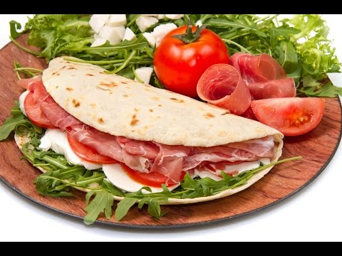 Typische Speisen Italien 🍕 Piadina Aus Rimini 🍕