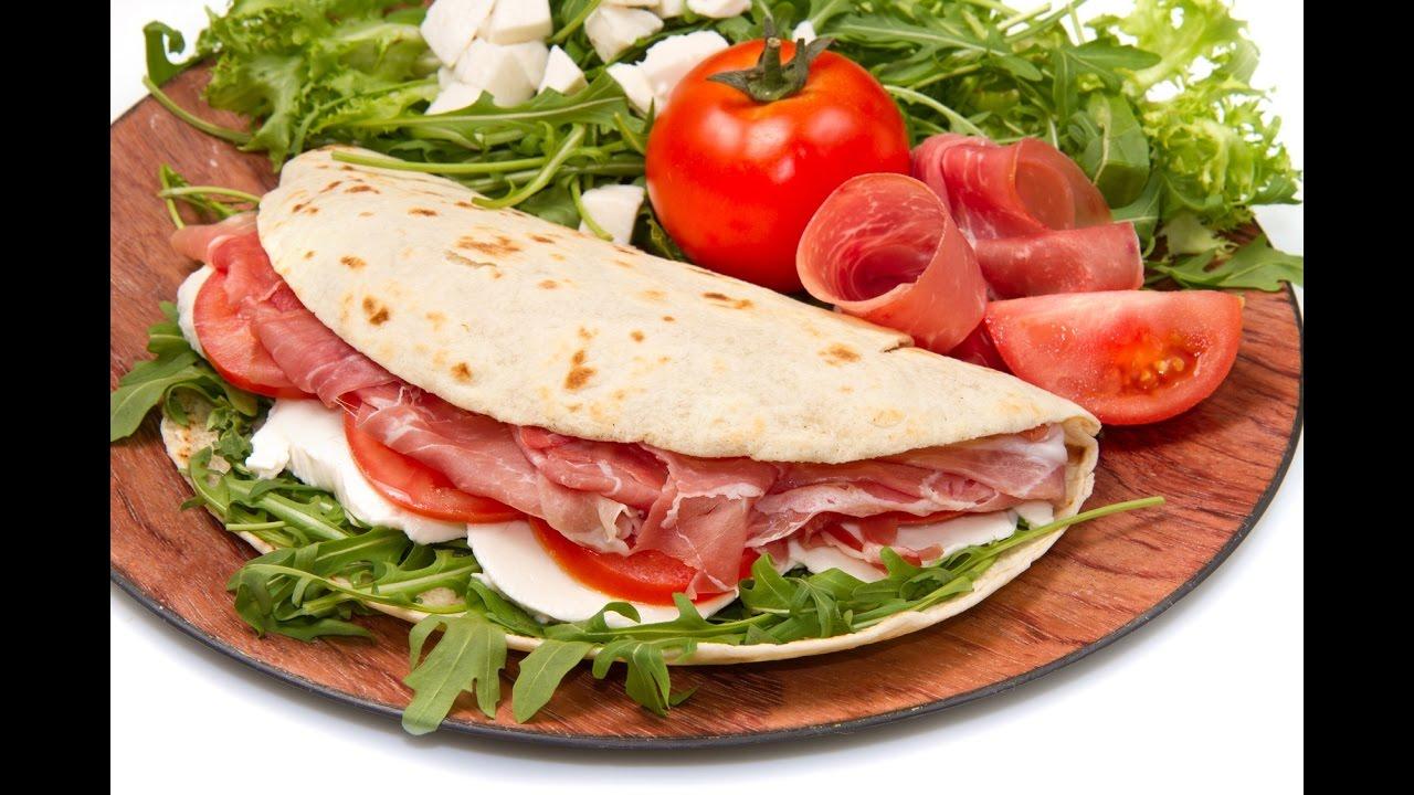 Typische Speisen Italien 🍕 Piadina Aus Rimini 🍕 Youtube