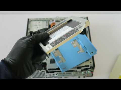 Dell Optiplex USFF 9020 9010 7010 Install Second SSD HDD