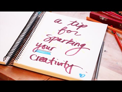 How to Spark Your Creativity! - with Art Supplies + Organization   Paige Poppe - Artist