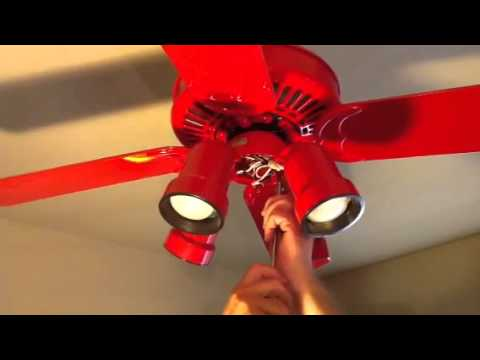 How To Remove Casablanca Ceiling Fan Part 2 Youtube