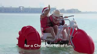 A Santa Approved Christmas Holiday at Atlantis, The Palm | Festive FUN in the Sun