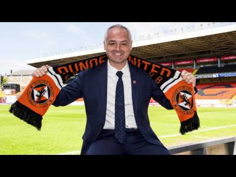 Ray McKinnon duced as new Dundee United manager