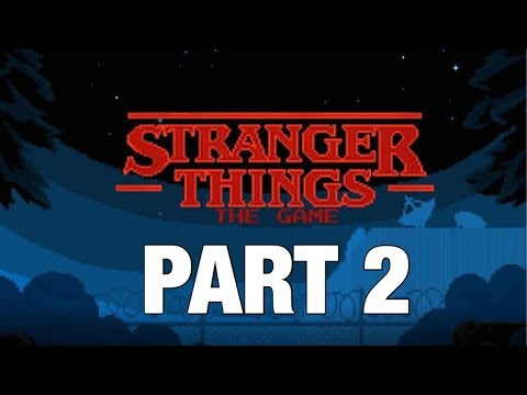 Stranger Things The Game! | Part 2 | Chapter 2 - The Gate. ( Walkthrough on iOS )