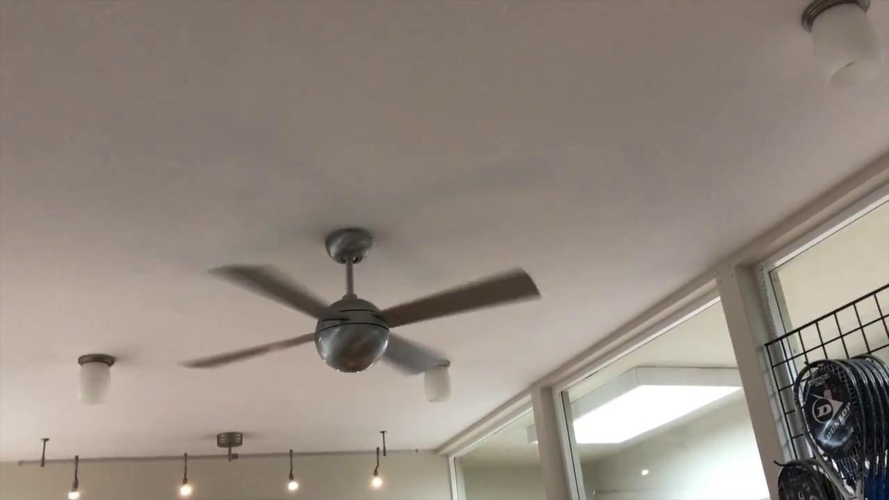42 Quot Modern Fan Co Ball Ceiling Fan 4 Of 4 Youtube