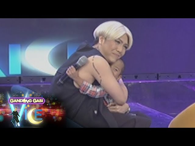 GGV: Vice Ganda feels touched because of Carlo Mendoza