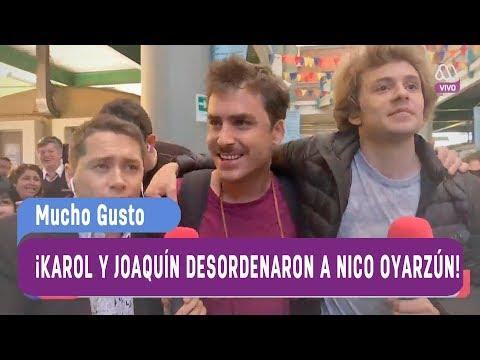 ¡Karol y Joaquín desordenaron Santiago con Nicolás Oyarzún! - Mucho gusto 2017