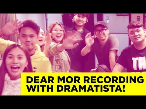 Dear MOR Recording with Dramatista! FULL VLOG