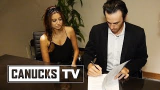 Ryan Miller signs the dotted line - All Access