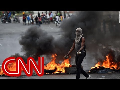 Trapped nurse describes political crisis in Haiti