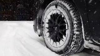 2WD Toyota Sienna in the SNOW with SNOW TIRES