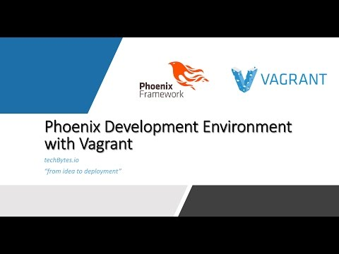 Phoenix Development Environment with Vagrant