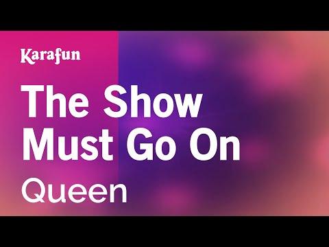 Karaoke The Show Must Go On - Queen *