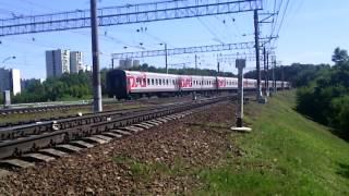 Поезд бегущий по рельсам со скоростью черепахи :-)