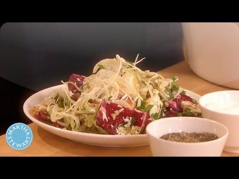 Meatless Monday: Farro Salad with Brussels Sprouts Martha Stewart