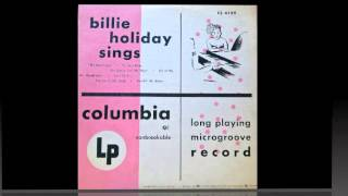 Billie Holiday Sings.