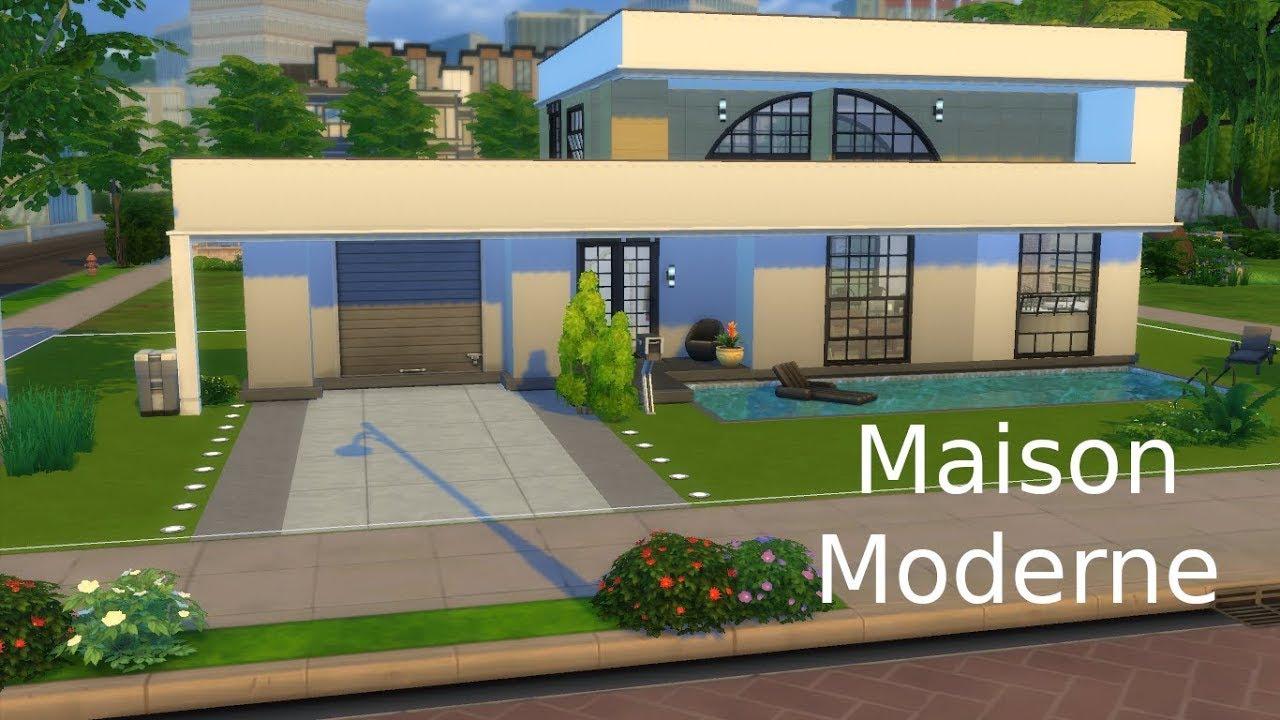 Maison Moderne 2 Sims 4 Youtube