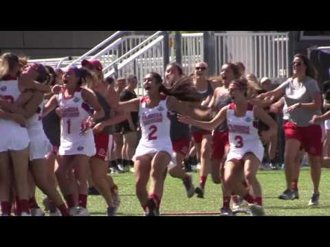 NCAA DII Women\'s Lacrosse Final: Florida Southern vs Adelphi