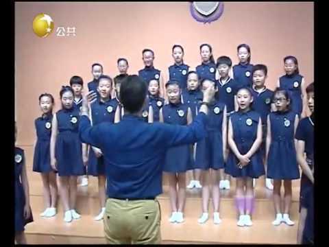 视听你我他 Paul Phoenix Coaching Shenyang Radio and TV Station Children's Choir