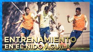 Entrenamiento 13 de Enero desde el Nido Águila | Club América