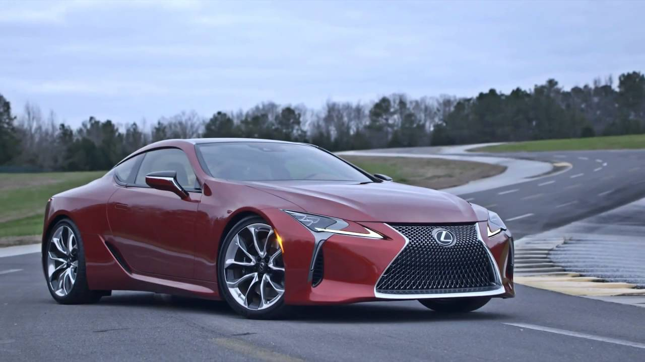 Lexus Lc 500 2017 New Lexus Coupe Youtube