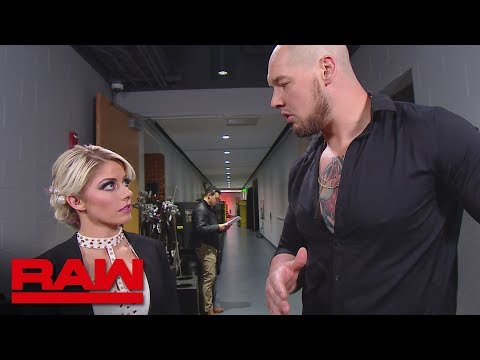 Baron Corbin puts Alexa Bliss in charge of the Raw Women's division: Raw, Nov. 26, 2018