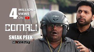 Comali - Moviebuff Sneak Peek | Jayam Ravi, Kajal Aggarwal, Samyuktha Hegde | Pradeep Ranganathan
