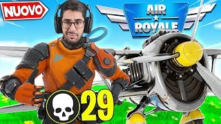 We did the RECORD ITALIAN in the new REAL AVIATION mode Fortnite ITA