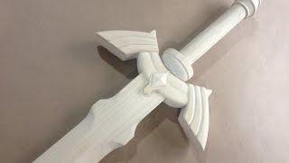 How To Make: Link's Master Sword [part 1] Zelda