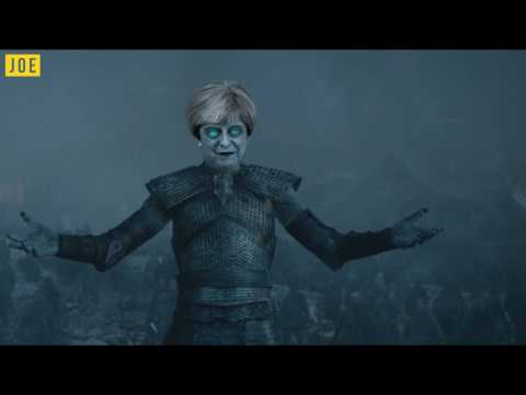 Theresa May isn't going anywhere. Winter is coming...