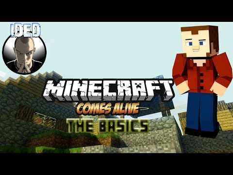 Minecraft comes Alive Mod Tutorial MC 1.8 - Minecraft Mondays