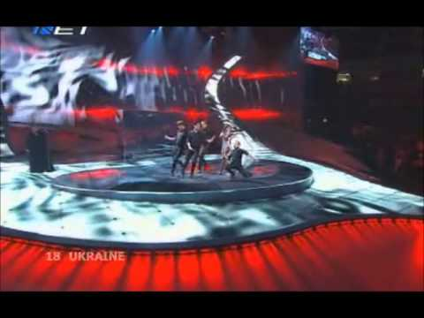 Ani Lorak - Shady Lady (Eurovision 2008 - Ukraine) Broadcasting by ERT