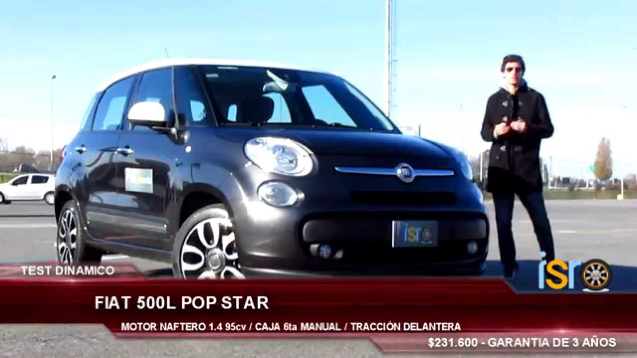 test fiat 500l pop star 1 4 16v info sobre ruedas youtube. Black Bedroom Furniture Sets. Home Design Ideas