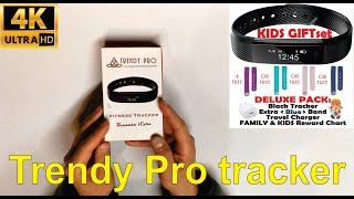 Detailed review of Kids Fitness tracker by Trendy Pro