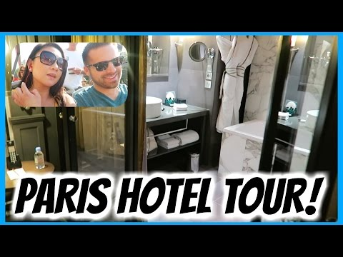 BARCELONA AND PARIS HOTEL TOUR! SPAIN TRAVEL VLOG!