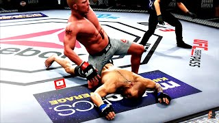 CONOR McGREGOR vs BROCK LESNAR | EA Sports UFC 3