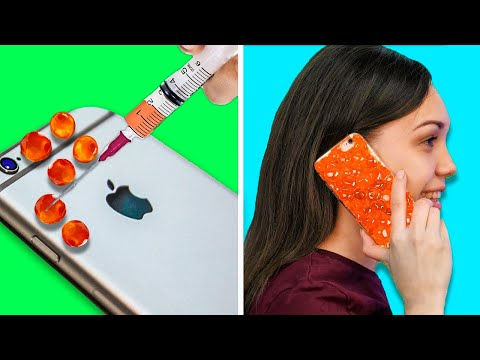 31 DECOR DIY PROJECTS YOU CAN MAKE IN 5 MINUTES || Phone Case Decor Ideas and Paper Crafts