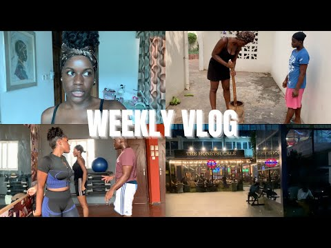 Yes, I Moved to Ghana! Learning How to Make Soup, Gym With My Siblings & More! || Jazmine Abena
